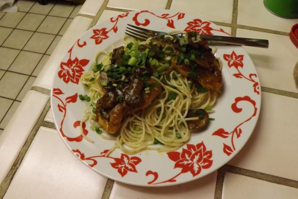 Chicken Marsala by Emeril