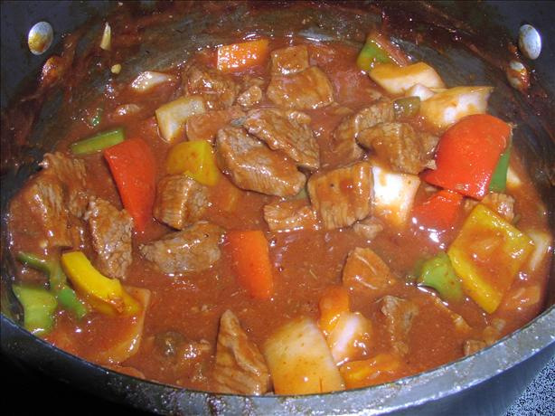 Mexican Style Beef in Sauce