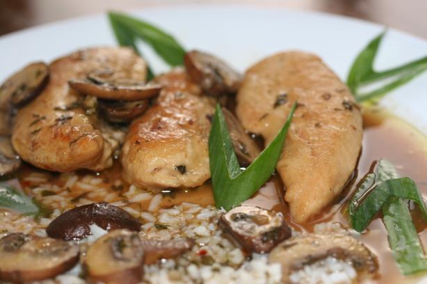Easy Marsala Chicken