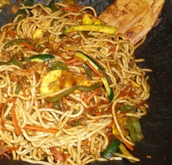 Chicken Chow Mein - Easy!