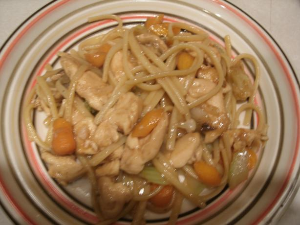 Chicken Vegetable Lo Mein