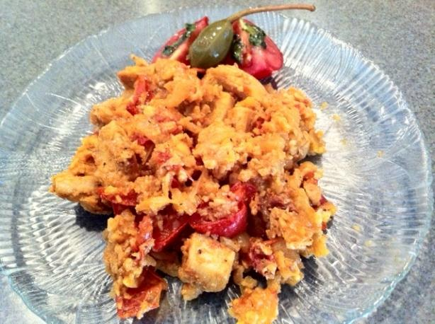 Low-Carb Chicken & Chorizo Paella
