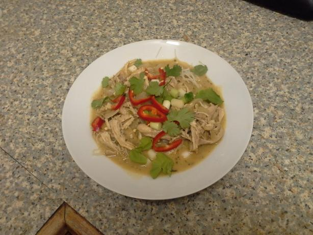 Shredded Chicken and Lemon Grass Soup
