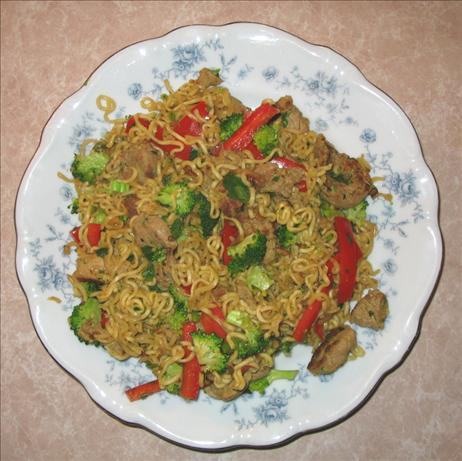 10-minute Pork Lo Mein