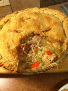 Maine Chicken Pie