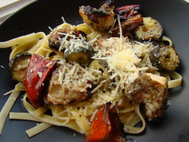 Grilled Italian Chicken & Vegetables