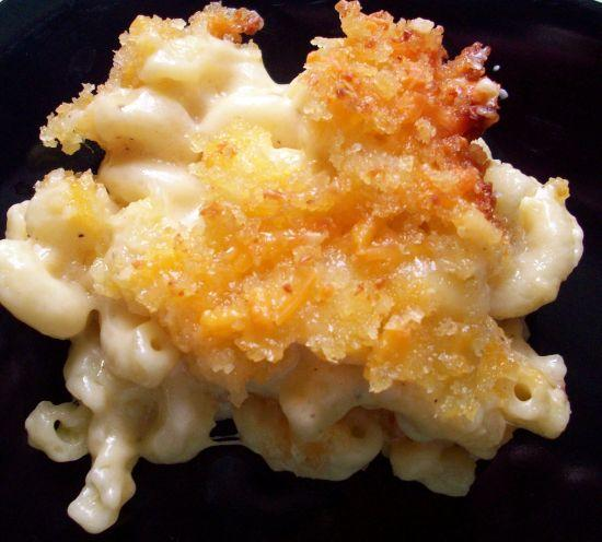 Baked Macaroni With Three Cheeses