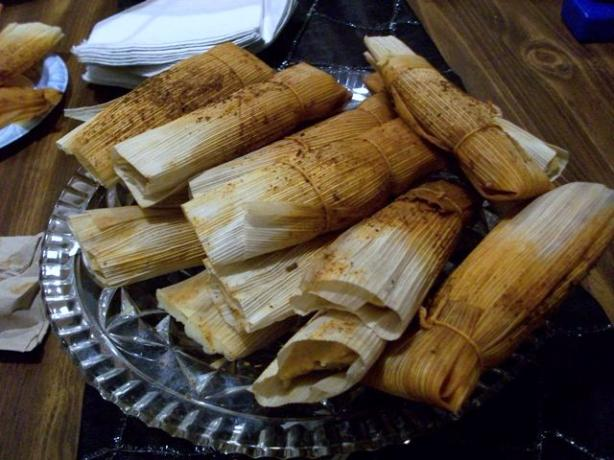 Good Eats Turkey Tamales (Alton Brown 2009)