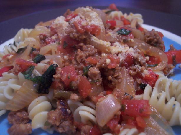 Italian Pepper and Sausage Dinner
