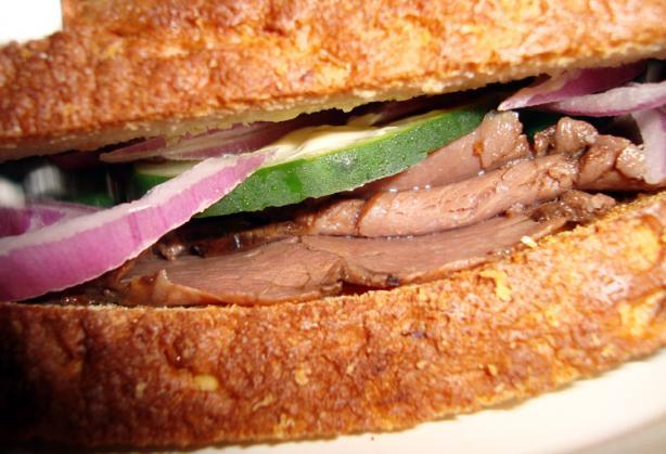 Horseradish Roast Beef Special Sandwich