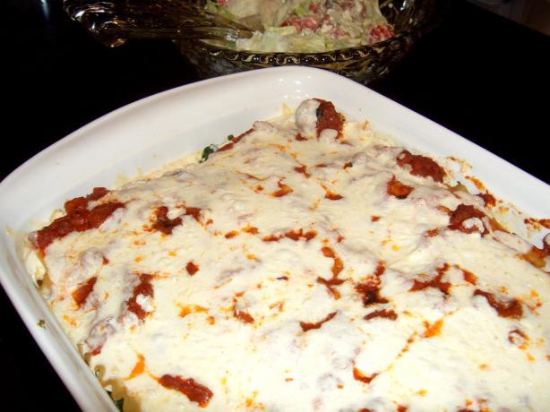 Amazing Vegetarian or Vegan Lasagna