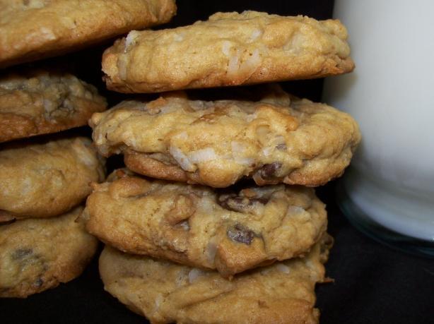 Choco Coco Nut Cookies