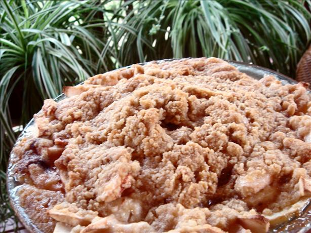 Brown Sugar Apple Pie (No Crust)