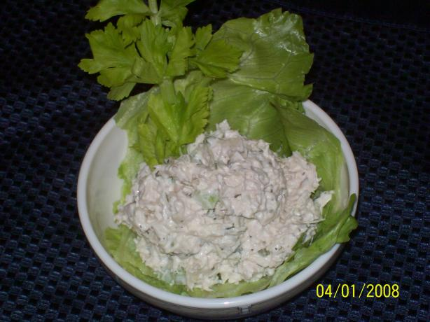 Easy but Delicious Chicken or Turkey Salad