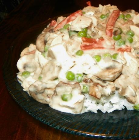 Quick Chicken and Mushroom Casserole