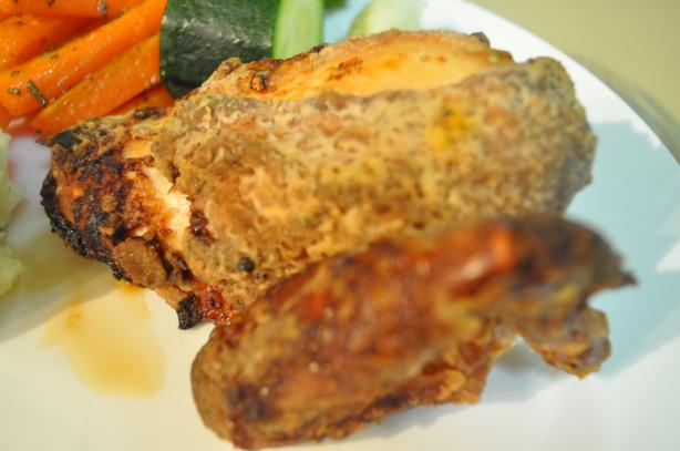 Low-Fat Oven-Fried Chicken