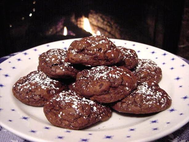 Ultimate Chocolate Truffle Cookies