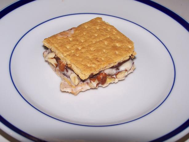 Chocolate-Hazelnut Ice Cream Sandwiches
