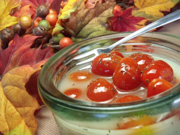 Cherry Tomatoes In Lemon Oil Dressing