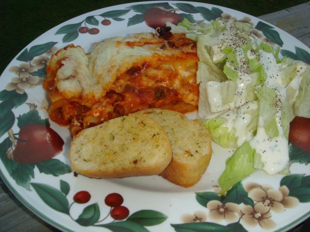 Clara's Easy Lasagna