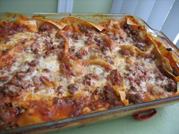 My Favorite Easy Lasagna Recipe