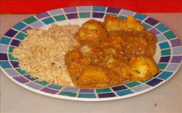 Chicken, Lentil, Potato Curry
