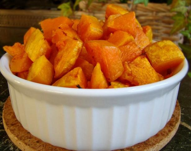Shamelessly Simple Baked Butternut Squash