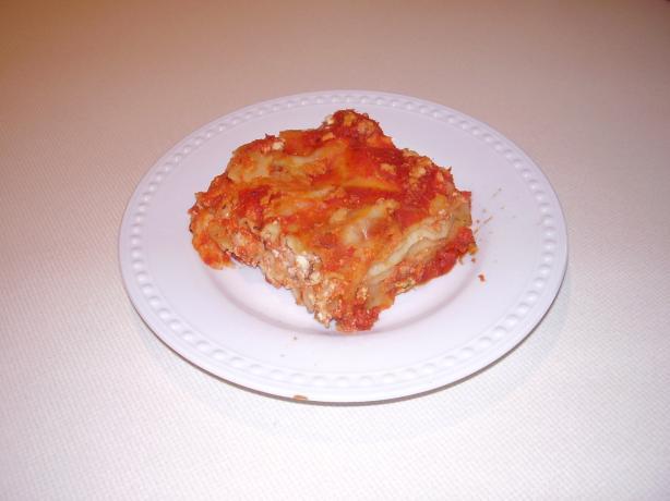 Easy Tofu Lasagna