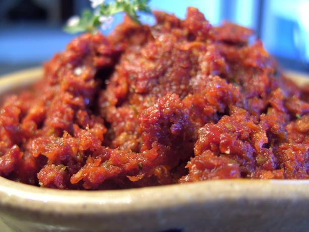 Tomato Caper Tapenade