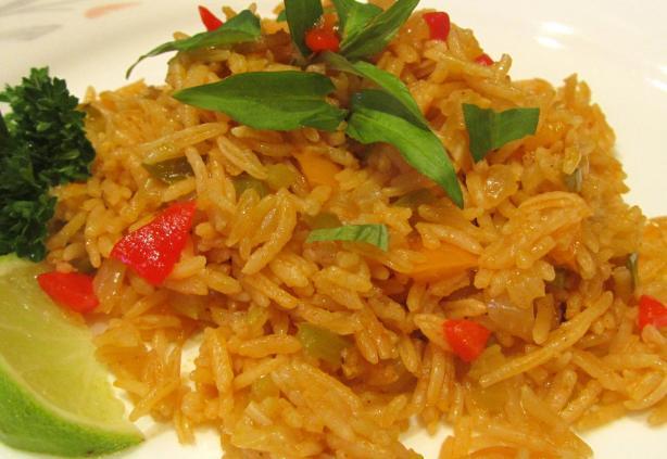 Yellow Rice - Arroz Amarillo Con Achiote