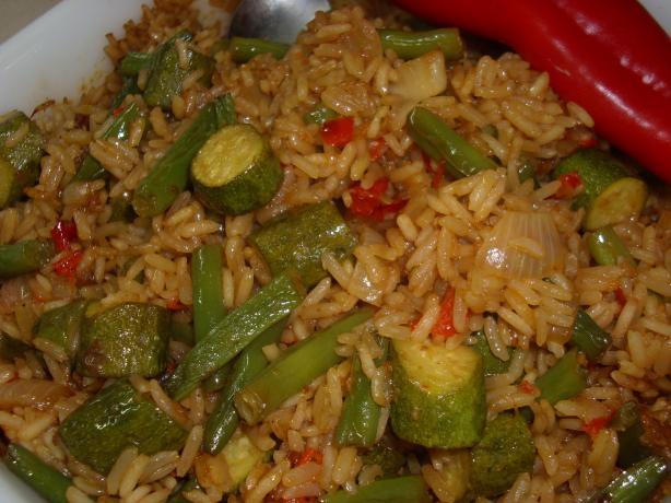 Arroz Con Calabacin (Rice With Zucchini)