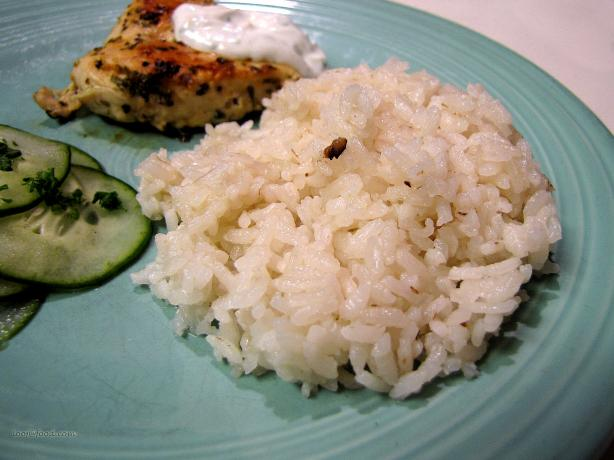 Simple Garlic Rice