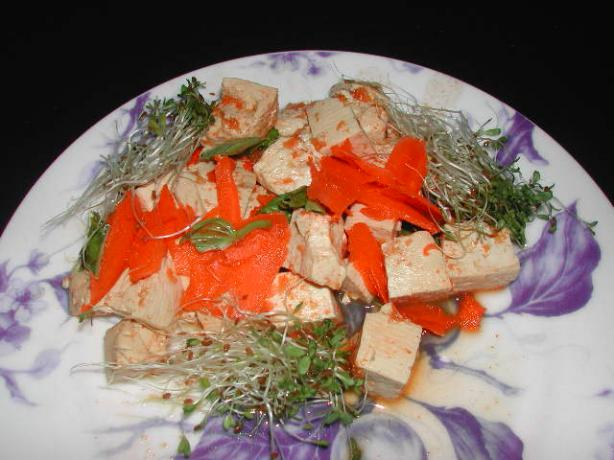 Thai-Style Tofu Ww in Microwave