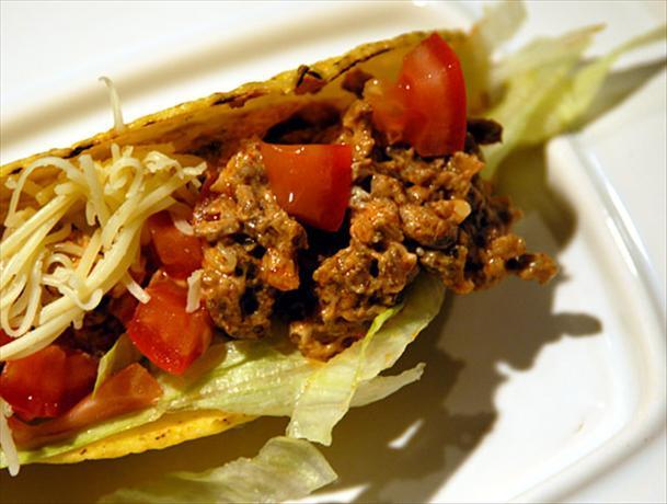 Creamy Beef Tacos