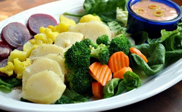 Potato, Beet,cauliflower and Broccoli Salad Platter