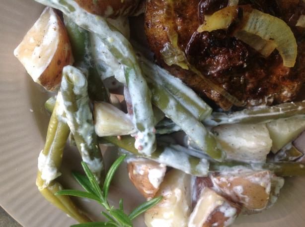 Slow Cooker Green Beans and Petite Reds