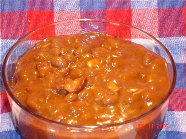 BBQ Baked Beans (Or Slow Cooker)