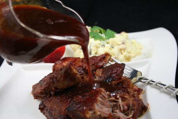 Sweet -N-Tangy Barbecue Sauce