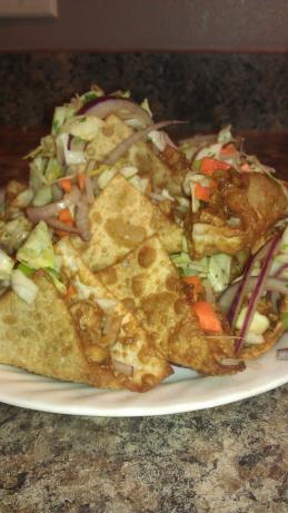 Thai Wonton Tacos