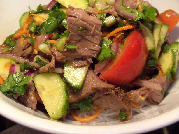 Yam Nuea - Thai Beef Salad