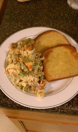 Rainbow Rotini, Chicken & Broccoli Casserole