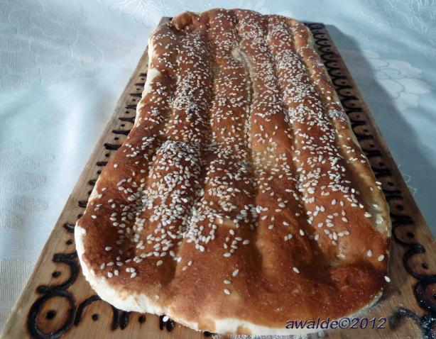 Barbari (A Persian Bread)