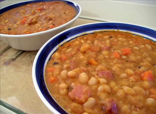 Baked-Bean Style Bean Soup
