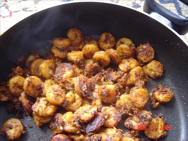 Masala Prawns (Shrimp)