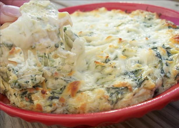 Hot Artichoke and Spinach Dip