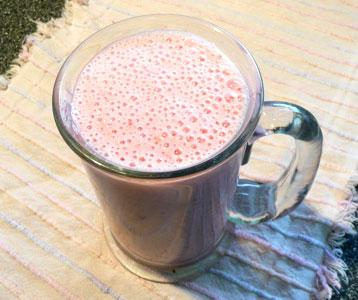 Strawberry-Banana Yogurt Smoothie