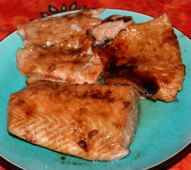 Balsamic Maple Glaze Salmon