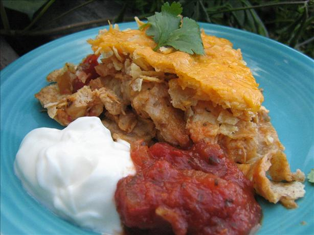 Super Tasty Lite Mexican Chicken Casserole