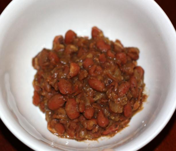 Spicy Refried Beans With Bacon