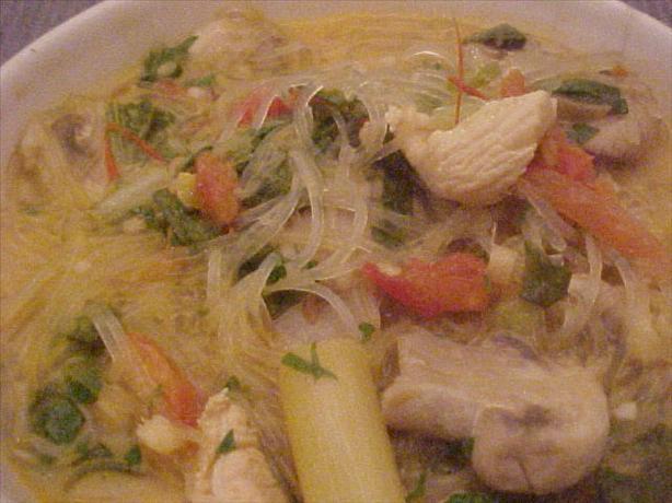 Thai Tom Kha soup